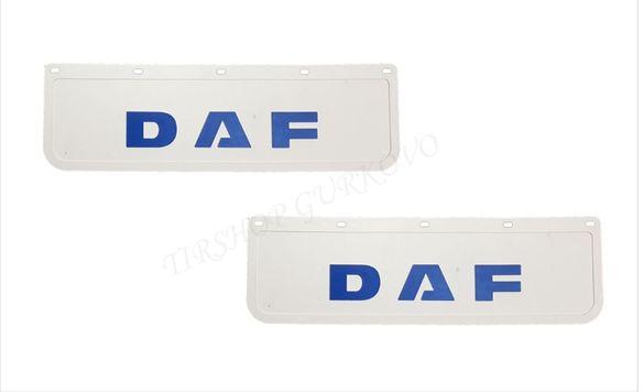 Релефни гумени бели калобрани Даф/DAF