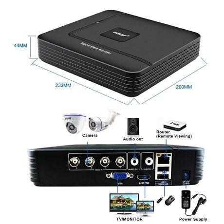 Видеорегистратор hybrid+2камеры