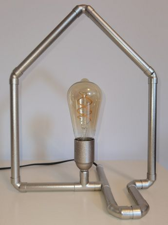 Lampa decorativa din cupru, aurie