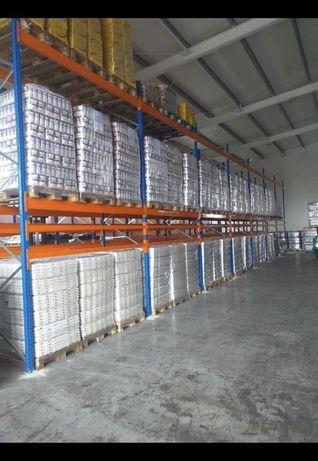 Rafturi metalice depozitare 7729x8277