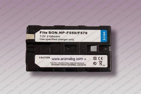 ANIMABG Батерия модел NP-F330 / NP-F550 / NP-F570 за SONY