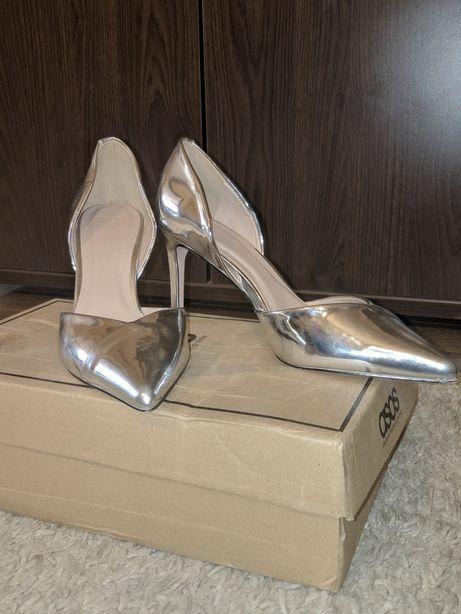 Pantofi dama de ocazie Asos Silver