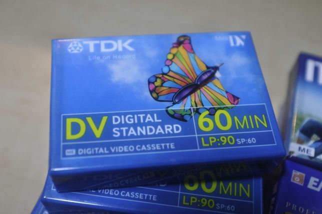 Casete video MDV TDK,Maxell.60 min sigilate