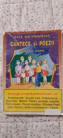 Antologie Cantece si poezii pentru clasele I - IV
