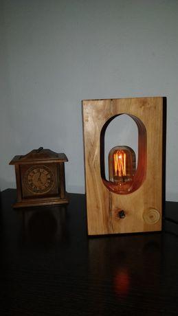 Rustic lamp/ veioza rustică/