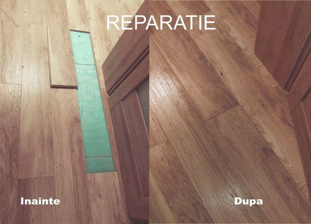 Montez si repar parchet laminat, montez si repar mobila