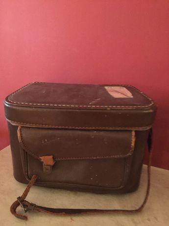 Автентична кожена чанта за фотоапарати Crestline 961