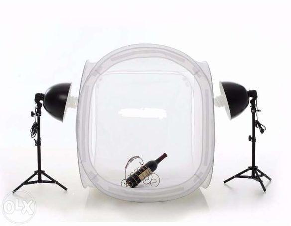 Палатка за продуктова фотография 50х50 softbox /софтбокс куб