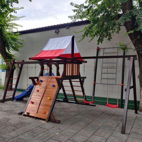 Детский игровой комплекс (площадка) с горкой и качелями Таити