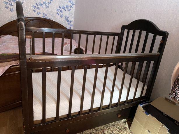 Детская кровать, манеж