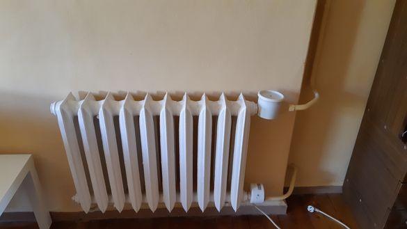 Чугунен радиатор с ел. нагревател