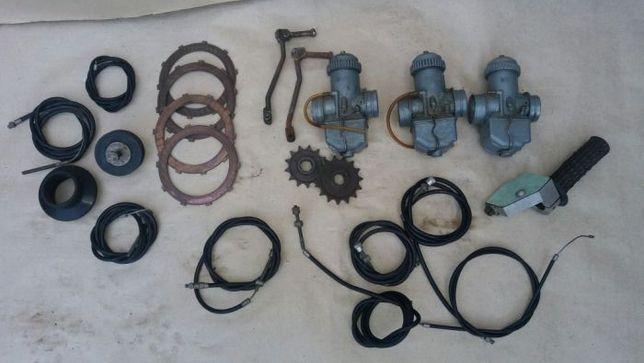 Зап.части на мотоцикл CZ