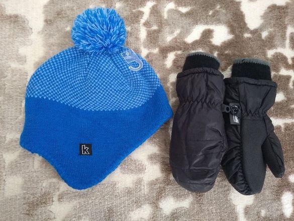 шапка и ръкавички