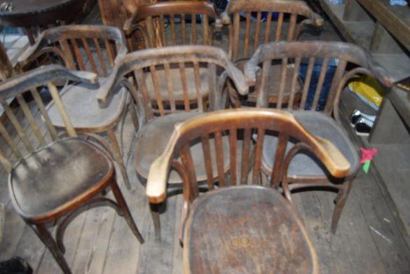 виенски столове с и без подлакътник
