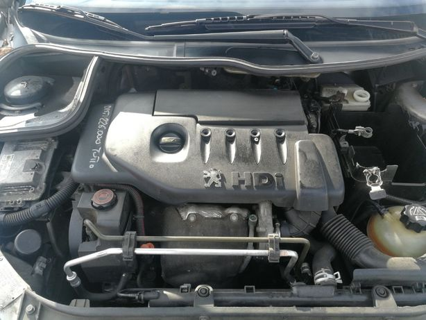 turbosuflanta pentru Peugeot 206 1.4hdi tip 8HX 8HZ