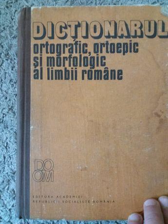 Dictionarul ortografic,ortoepic si morfologic al limbii romane-Academi