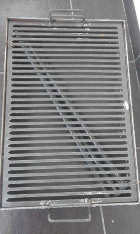 Gratar metalic gradina 40x60 cm-foarte rezistent