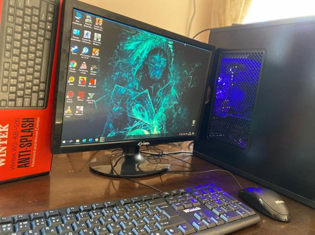 Системник и монитор Core i3