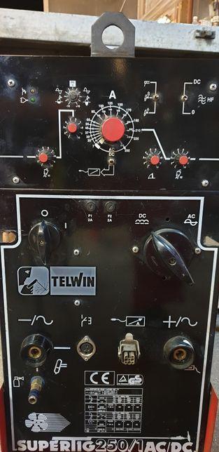 Aparat de sudura aluminiu AC/DC Telwin 250 pret/buc.Esab Fronius