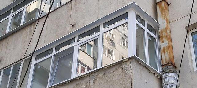 Balcon si tamplarie PVC