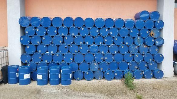 Празни варели 60L от масло и обезмаслител