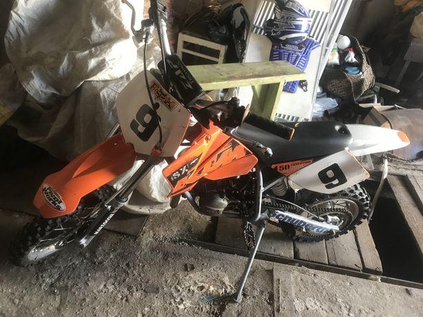 Кроссовый мотоцикл 50кубов