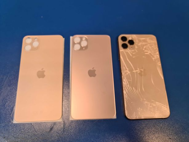 Sticla spate iPhone 11 Pro Max pret 400 lei