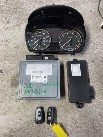 Kit pornire bmw e90 e91 e92 n43b20a 318i manual ecu bmw n43b20a