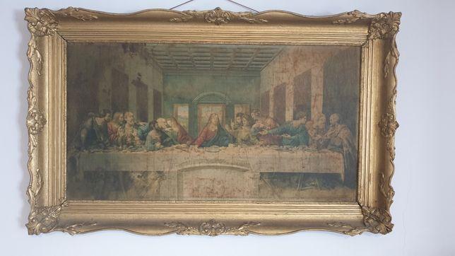 Tablou Cina cea de taină semnata Leonardo da Vinci