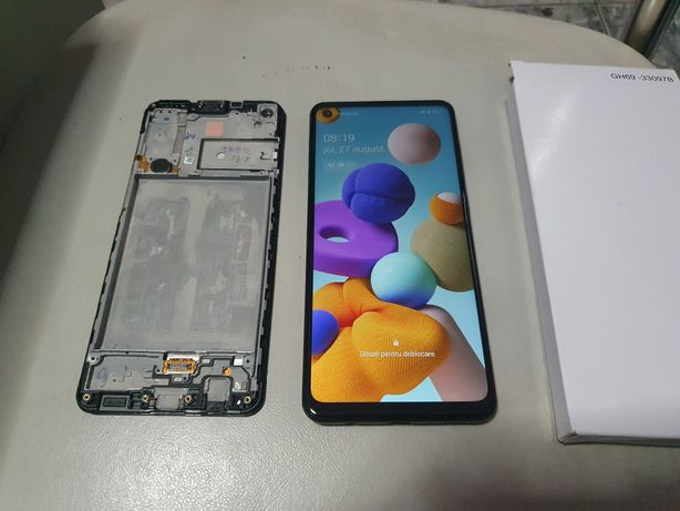 Inlocuire display Samsung A21s ( original cu garantie )