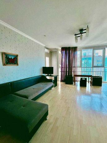 Сдается  3ком квартира в центре Алматы. Almaty Towers