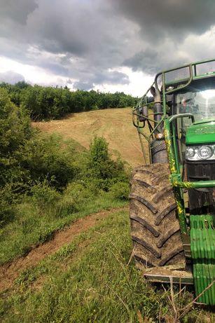 Почистване на ниви, лозя, храсти