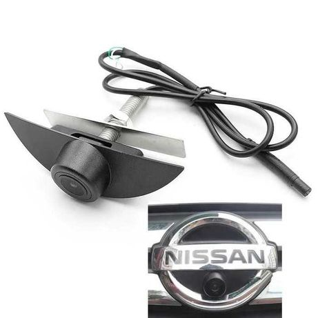 Camera frontala Nissan , cu montaj in sigla+factura+garantie