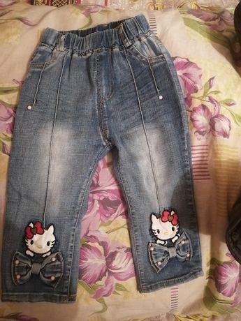 Детские джинсы 1000тг