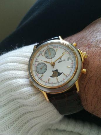 Ceas Kronos chronograph mecanic swiss Valjoux 7758
