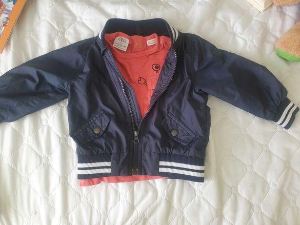 Пролетно яке ,Zara тениска 1 годинка