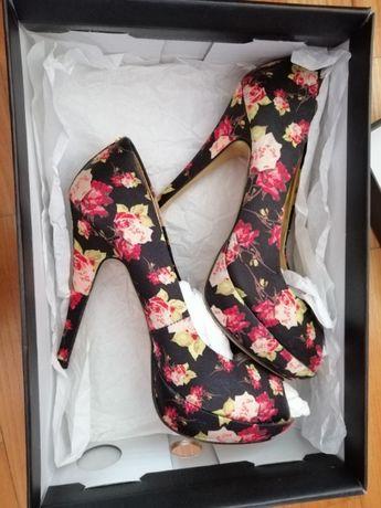 Маркови официални обувки висок ток Ted Baker Тед Бейкър