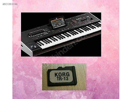 CE SD karta за KORG pa4x (CE-4X)KorgTR13.SET