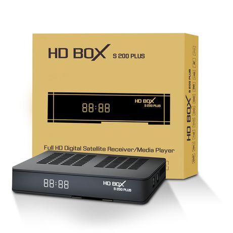 Спутниковый ресивер HD BOX S200 Plus поддерживает T2MI
