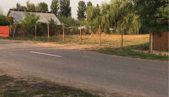 Vand teren intravilan 725 mp in Movila-Banului, Buzau.