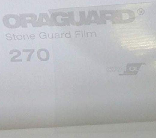 Folie de protecție transparentă pentru faruri 150cm x 50cm ORAGUARD