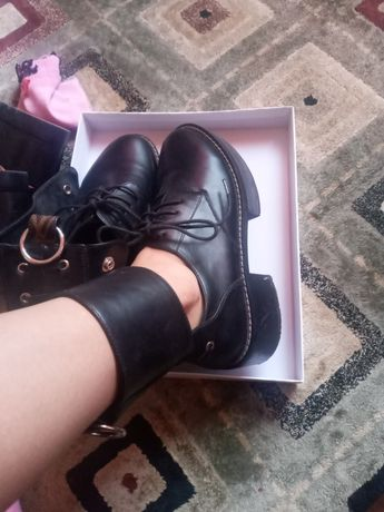 Ботинки  луи витон и брогги