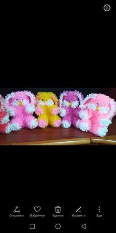 Мочалки игрушки 1000тенге