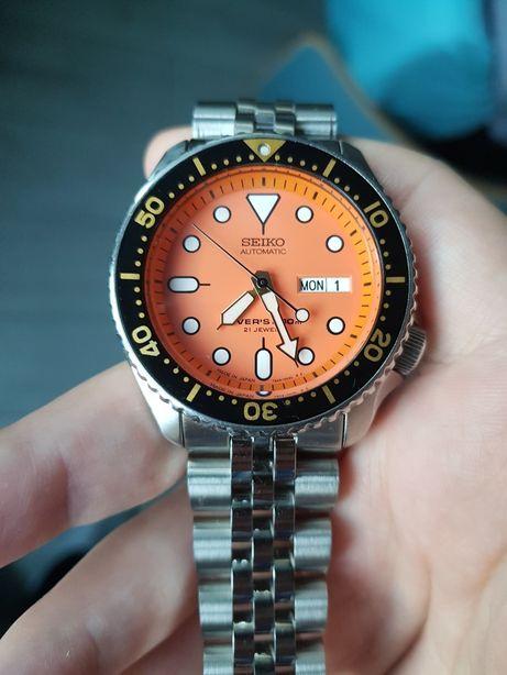 Ceas diver Seiko SKX011, ca nou, Made in Japan