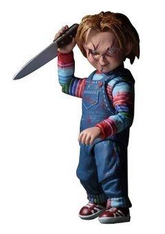 Chucky in actiune. Super figurina cu accesorii. Papusa Chucky