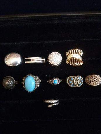Кольца винтажные серебро,позолота,люксовые бренды и советские. Винтаж.