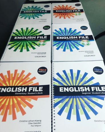 English File / New English File / Solutions / New Headway /Family and