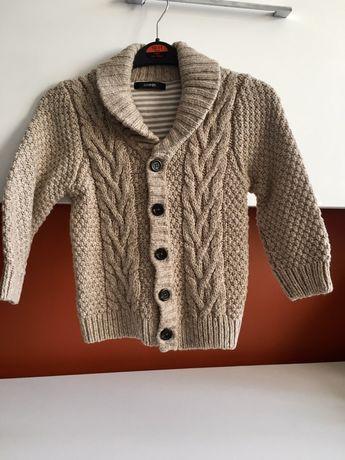 Cardigan / pulover tricotat 4-5ani( ca nou)