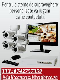 Sisteme de supraveghere video, alarmare si videointerfonie