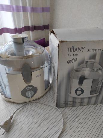 Продам соковыжималку Tiffany SL 138 в отличном состоянии.